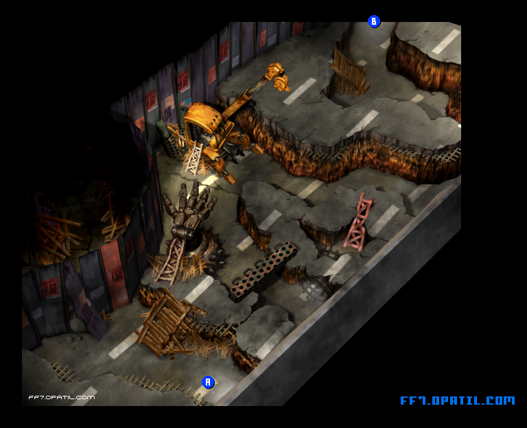 Sector 6 Map : FF7 All Location Maps - FF7 Walkthrough and ...