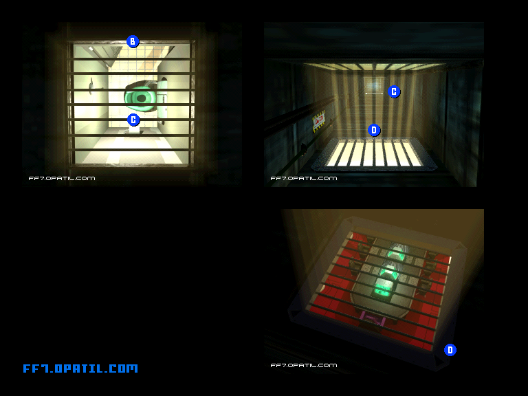 ff7 walkthrough shinra building